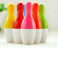 színes bowling alakú golyóstoll (véletlenszerű szín)
