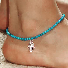 Łańcuszek na kostkę/Bransoletki Żywica Modny biżuteria kostiumowa Ręka Fatimy Biżuteria Na Impreza Codzienny Casual