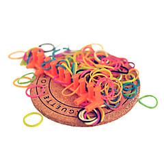 zestawy do kolorowej tęczy krośnie (gumką przypadkowych sztuk, recyklingu szydełkiem, hak Recycle s)
