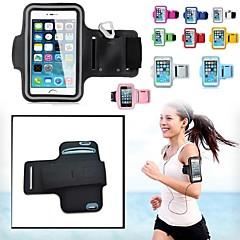 trendi sport futás kocogás tornaterem karszalagot teljes test tok iPhone 6 / Galaxy S3 / S4 (vegyes színes)