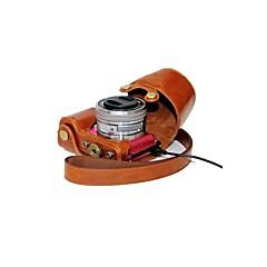 소니 알파 a5100 A5000의 ILCE-5,100리터 NEX-3N에 대한 dengpin® 가죽 보호 카메라 커버 케이스 가방 충전 스타일