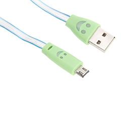 USB 2.0 / Micro USB 2.0 Φωτίζει Πλαστικό Καλώδιο 95cm