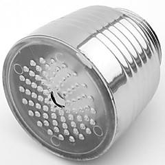 RC-f1102 세련된 물 흐름 화려한 발광 LED가 빛을 수도꼭지 등 (플라스틱, 크롬 마무리)