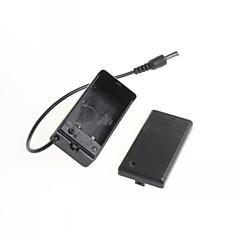 9V-os PP3 akkumulátor tartó doboz dc esetben vezetékes ólom on / off kapcsoló fedelét