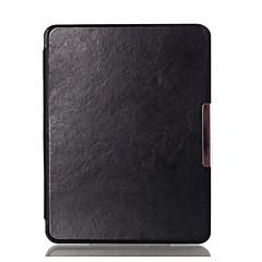 urso tímido ™ caso capa de couro de 6,8 polegadas para Kobo aura h2o leitor de ebook