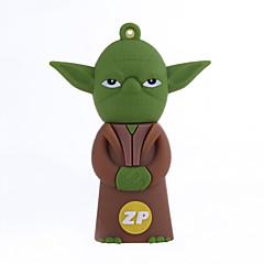 ZP χαρακτήρα Yoda 16gb usb κίνησης μανδρών λάμψης