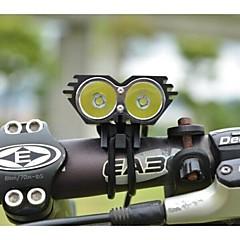Czołówki Światła rowerowe 5000/2500 Lumenów Tryb Cree XM-L U2 18650 Odporne na czynniki zewnętrzne Akumulator Wodoodporne