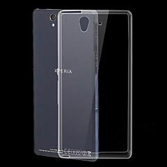 ultra vékony, átlátszó TPU puha tok Sony Xperia z l36h c6603