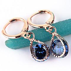 Dame Store øreringe kostume smykker Zirkonium Legering Smykker Til Bryllup Fest Daglig Afslappet