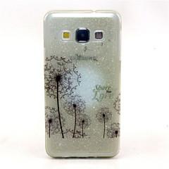 Varten Samsung Galaxy kotelo Läpinäkyvä / Kuvio Etui Takakuori Etui Voikukka TPU Samsung A7 / A5 / A3