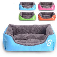 Kat Hond bedden Huisdieren Matten & Pads waterdicht Schattig Oranje Roos Groen Blauw
