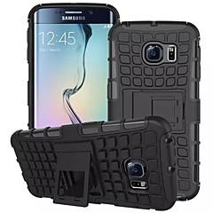Na Samsung Galaxy Etui Portfel / Odporne na wstrząsy / Z podpórką / Flip Kılıf Etui na tył Kılıf Zbroja PC na SamsungS7 edge / S7 / S6