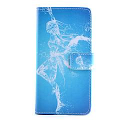 Για Samsung Galaxy Note Πορτοφόλι / Θήκη καρτών / με βάση στήριξης / Ανοιγόμενη tok Πλήρης κάλυψη tok Σέξι κυρία Συνθετικό δέρμα Samsung