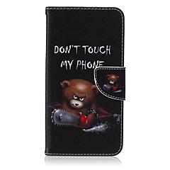 Na Samsung Galaxy Note Portfel / Etui na karty / Z podpórką / Flip Kılıf Futerał Kılıf Kreskówka Skóra PU Samsung Note 5 / Note 4 / Note 3