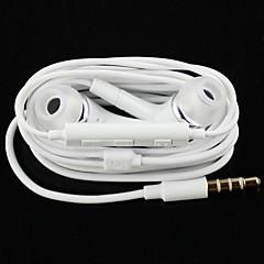 wysokiej jakości słuchawki stereofoniczne słuchawki do ucha w metalowej zestaw głośnomówiący słuchawki z mic 3,5mm wkładek do Samsung S4 /