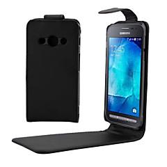Mert Samsung Galaxy tok Flip Case Teljes védelem Case Egyszínű Műbőr SamsungYoung 2 / Xcover 3 / J7 (2016) / J5 (2016) / J3 / J2 / J1