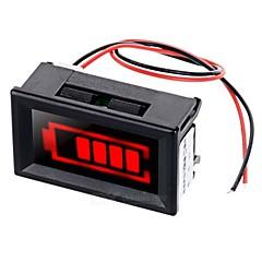 κόκκινο φως ηλεκτρικό displayer ποσότητα w συναγερμού / strobe για 12V μπαταρία μολύβδου-οξέος αποθήκευσης