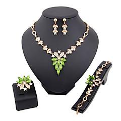 Mücevher-Kolyeler / Kolczyki / Yüzükler / Bilezik(alaşım / Yapay Elmas)Düğün / Parti Düğün Hediyeleri