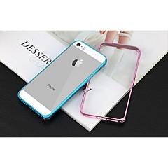Uusin pyöreä reuna metalli suojaava alumiiniseos puskuri runko iPhone 5 / 5s