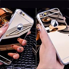 kryształowe lustra akrylowe miękka tylna skrzynka dla iphone 5 / 5s / 5se / 6 / 6S / 6 plus / 6s Plus