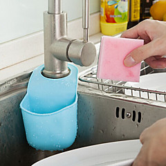 többfunkciós konyhai és fürdőszobai lefolyó nyereg alakú tartót (véletlenszerű szín)