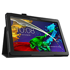 """pu caso da tampa de guia Lenovo 2 a10-30 10,1 """"tablet com protetor de tela"""