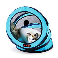 Zabawka dla kota Zabawki dla zwierząt Tuby i tunele Składany Tekstylny