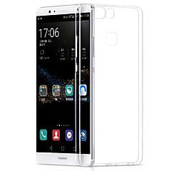 Czarne etui Ultracienki Tek Renk TPU Měkké Skrzynki pokrywa Dla Huawei Huawei P9 / Huawei P9 Lite / Huawei P8 / Huawei P8 Lite