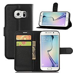 Varten Samsung Galaxy kotelo Korttikotelo / Tuella / Flip / Magneetti Etui Kokonaan peittävä Etui Yksivärinen Tekonahka SamsungA7(2016) /