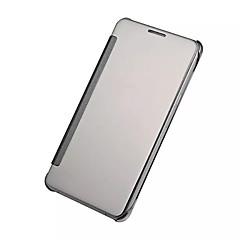 For Samsung Galaxy etui Belægning Spejl Flip Etui Heldækkende Etui Helfarve PC for Samsung A9(2016) A7(2016) A5(2016) A3(2016) A9 A8 A7