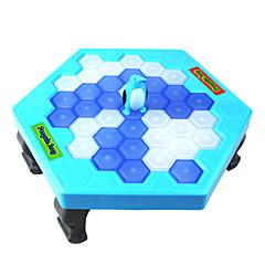 Tabla de joc Jocuri Puzzle de masă Jocuri de Paternitate Pinguin Salvați pinguinul Noutate Băieți Fete