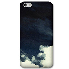 Voor iPhone 6 hoesje / iPhone 6 Plus hoesje Patroon hoesje Achterkantje hoesje Zwart & Wit Hard PC iPhone 6s Plus/6 Plus / iPhone 6s/6