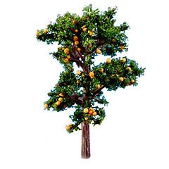 Model& Budynek zabawki pomarańczowe drzewa zabawki lalki