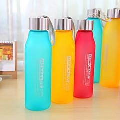 taşınabilir sızdırmaz saf renk su şişesi