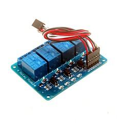 4-kanałowy moduł przekaźnikowy 5V z transoptor DSP avr pic ramienia dla Arduino