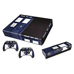 Adesivo-B-Skin-XBOX ONE-Inovador- dePVC-USB- paraUm Xbox