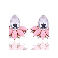 Dames Oorknopjes Kristal Meetkundig Kostuum juwelen Bloemen  Kristal Legering Bloemvorm Sieraden Voor Feest Dagelijks Causaal