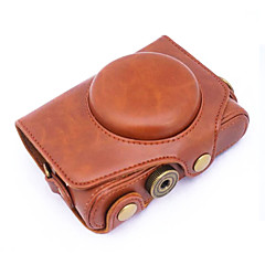 캐논 파워 샷 sx720의 고속 sx720에 대한 dengpin® PU 가죽 카메라 케이스 가방 커버 (모듬 색상)