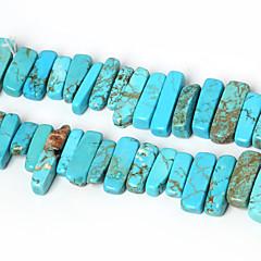 자연 청록색 돌 구슬 beadia 10-30mm 불규칙한 모양의 돌 스페이서 구슬 38cm / STR (약 50PCS)