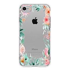 Για Θήκη iPhone 7 / Θήκη iPhone 7 Plus / Θήκη iPhone 6 Με σχέδια tok Πίσω Κάλυμμα tok Λουλούδι Μαλακή TPU για AppleiPhone 7 Plus / iPhone