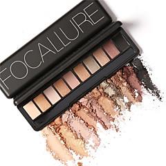 10 Oogschaduwpalet Droog / Mat / Glinstering / Mineraal Oogschaduw palet Poeder NormaalFeestelijke make-up / Feeërieke make-up /