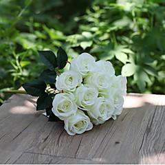 Set of 1 PCS 1 Κλαδί Πολυεστέρας Τριαντάφυλλα Λουλούδι για Τραπέζι Ψεύτικα λουλούδια Long 15.7(inch)