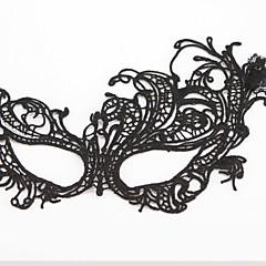Μάσκα Στολές Ηρώων Γιορτές/Διακοπές Κοστούμια Halloween Μαύρο Μονόχρωμο / Δαντέλα Μάσκα Halloween Γιούνισεξ