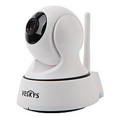 veskys® camera ip 1.0mp t2 720p Wi-Fi de securitate (zi de noapte / detectare de mișcare / acces de la distanță / IR-cut / plug and play)