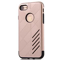 Til iPhone 8 iPhone 8 Plus iPhone 7 iPhone 6 iPhone 5 etui Etuier Vand / Dirt / Shock Proof Bagcover Etui Rustning Hårdt PC for Apple