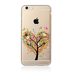 Na Przezroczyste / Wzór Kılıf Etui na tył Kılıf Drzewo Miękkie TPU na AppleiPhone 7 Plus / iPhone 7 / iPhone 6s Plus/6 Plus / iPhone 6s/6