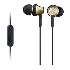 GUSOLL MDR-EX650AP I Øret-Hovedtelefoner (I Ørekanalen)ForMedieafspiller/Tablet Mobiltelefon ComputerWithMed Mikrofon DJ Lydstyrke