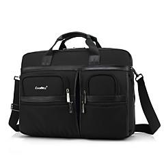 17,3 ιντσών multi-διαμέρισμα laptop τσάντα ώμου αδιάβροχο ύφασμα της Οξφόρδης με λουράκι notebook τσάντα χειρός για dell / hp / Sony /