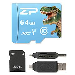ZP 64GB MicroSD Class 10 80 Other Multiple i en kortlæser Micro SD-kortlæser SD-kortlæser ZP-1 USB 2.0