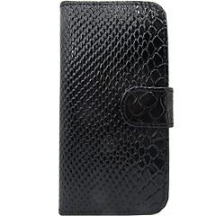 Varten Korttikotelo Flip Etui Kokonaan peittävä Etui Linjat / aallot Kova Tekonahka varten Samsung S3
